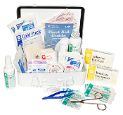 TRUCK FIRST AID KIT, MEDIUM SIZE, GREAT PRICE  !!