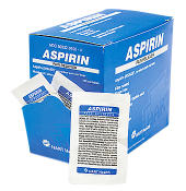 ASPIRIN PAIN RELIEVER, UNIT DOSE PACK 50/2's
