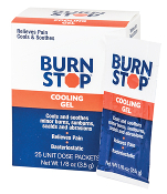 BURN STOP  , BURN GEL 25 CT. BOX