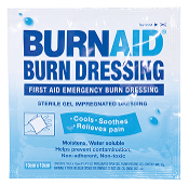 "BURNAID BURN DRESSING 4""X4"""