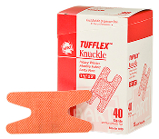 TUFFLEX ELASTIC KNUCKLE BANDAGES 40 CT.   SALE!