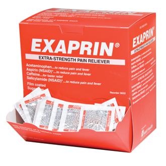 HART EXAPRIN PAIN RELIEVER  250/2's  (500 total)