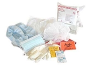 INFECTION CONTROL KIT WITH CPR MASK