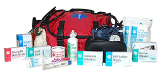 FIRST RESPONDER SOFT SIDED TRAUMA KIT FREE SHIPPING!!