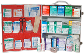 3 SHELF FIRST AID CABINET .FREE SHIPPING !