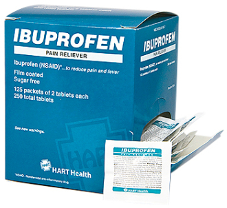 IBUPROFEN, 125/2's  (250 total tablets)  Great Price!!