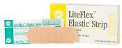 "ELASTIC STRIP BANDAGES, 1""x 3"", 16/UNIT"