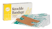 KNUCKLE BANDAGES, ELASTIC, 8/UNIT
