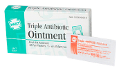 TRIPLE ANTIBIOTIC OINTMENT, 10/UNIT