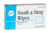 SOOTH A STING WIPES, 10/UNIT