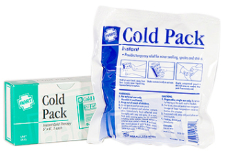 COLD PACK INSTANT ICE PACK, BOXED