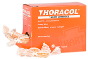 THORACOL THROAT LOZENGE, 50/BOX