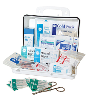 #25 BULK FIRST AID KIT, POLY BOX