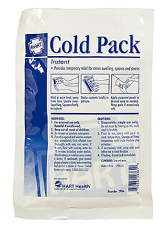 "COLD PACK, HART, INSTANT, 6""X9"", EACH"