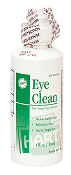 EYE CLEAN, 4 OZ. WITH SCREW CAP TOP
