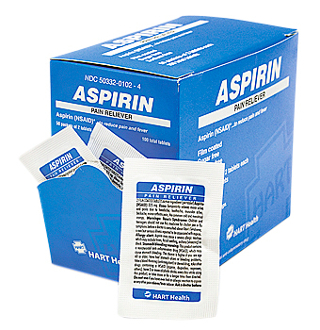 ASPIRIN PAIN RELIEVER 125/2PACKS