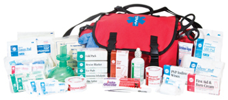 BASIC FIRST RESPONDER TRAUMA KIT