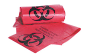 BIOHAZARD BAGS 7-10 GALLON  50 BAG ROLL